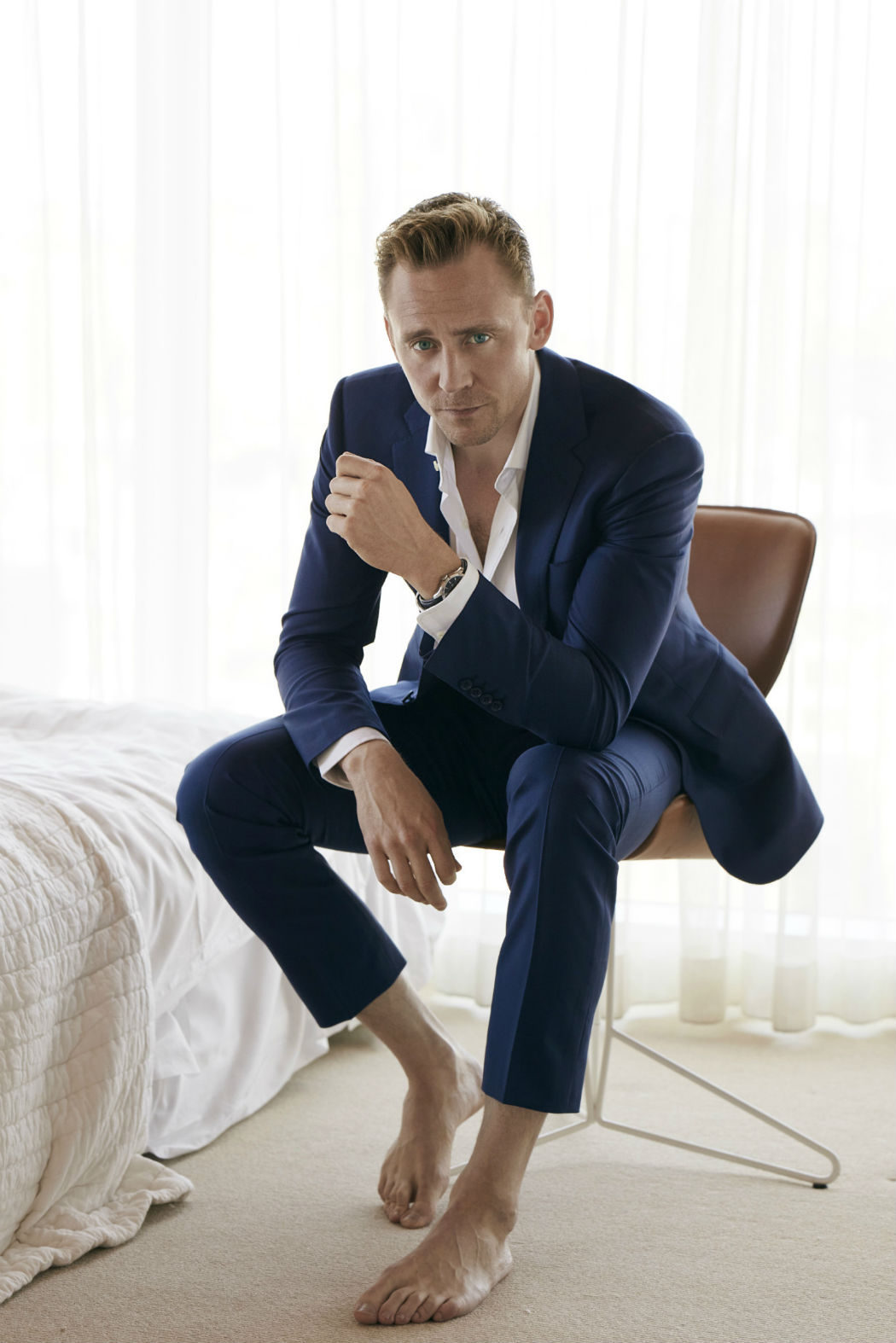 Tom Hiddleston para W Magazine