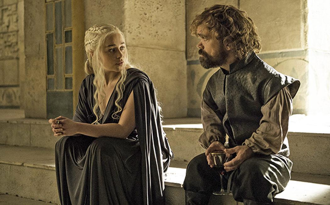 Daenerys y Tyrion en Meereen