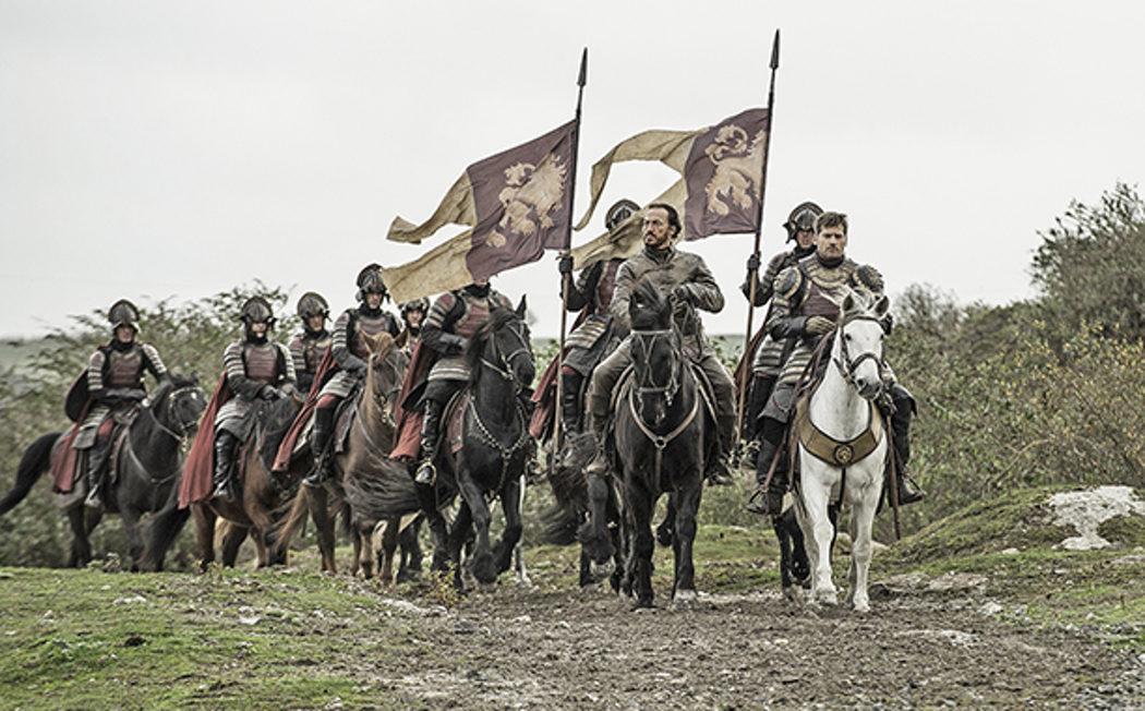 Bronn y Jaime Lannister