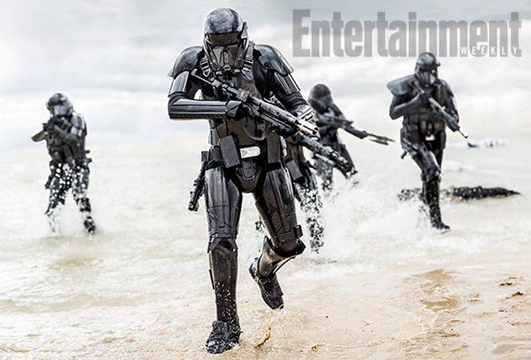 Soldados de las Tropas de la Muerte en 'Rogue One'