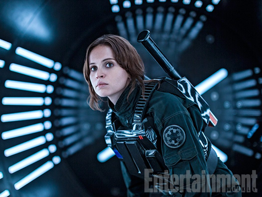 Felicity Jones es Jyn Erso en 'Rogue One'