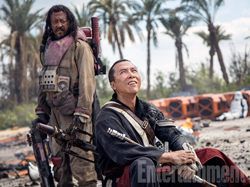 Jiang Wen y Donnie Yen en 'Rogue One: Una historia de Star Wars'