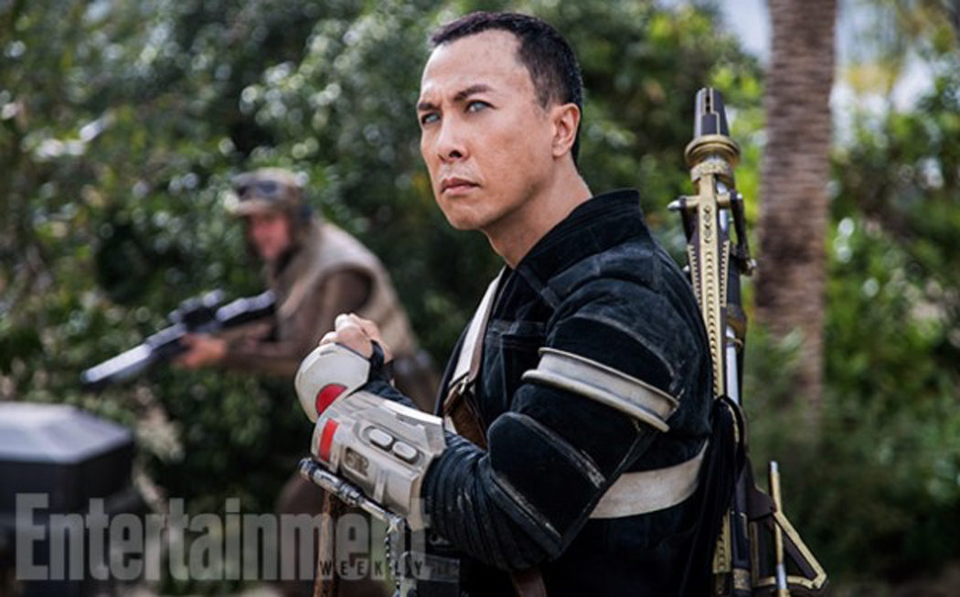 Donnie Yen es Chirrut Imwe en 'Rogue One'