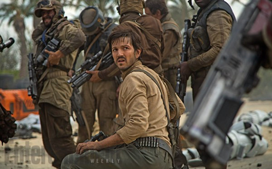 Diego Luna interpreta al Capitán Cassian Andor en 'Rogue One'
