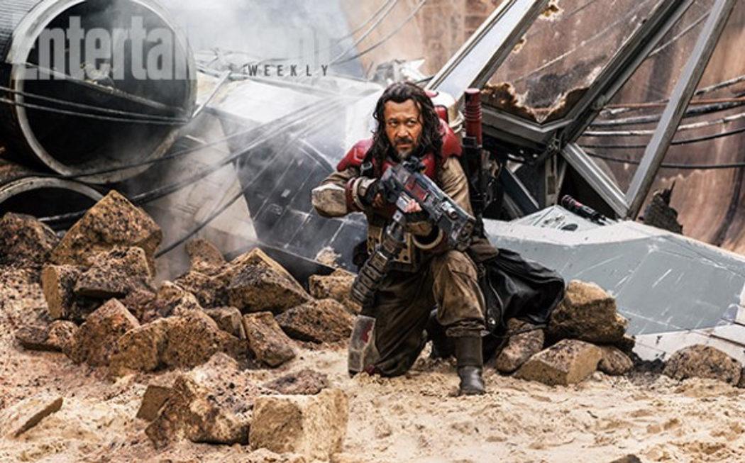 Jiang Wen da vida a Baze Malbus en 'Rogue One'