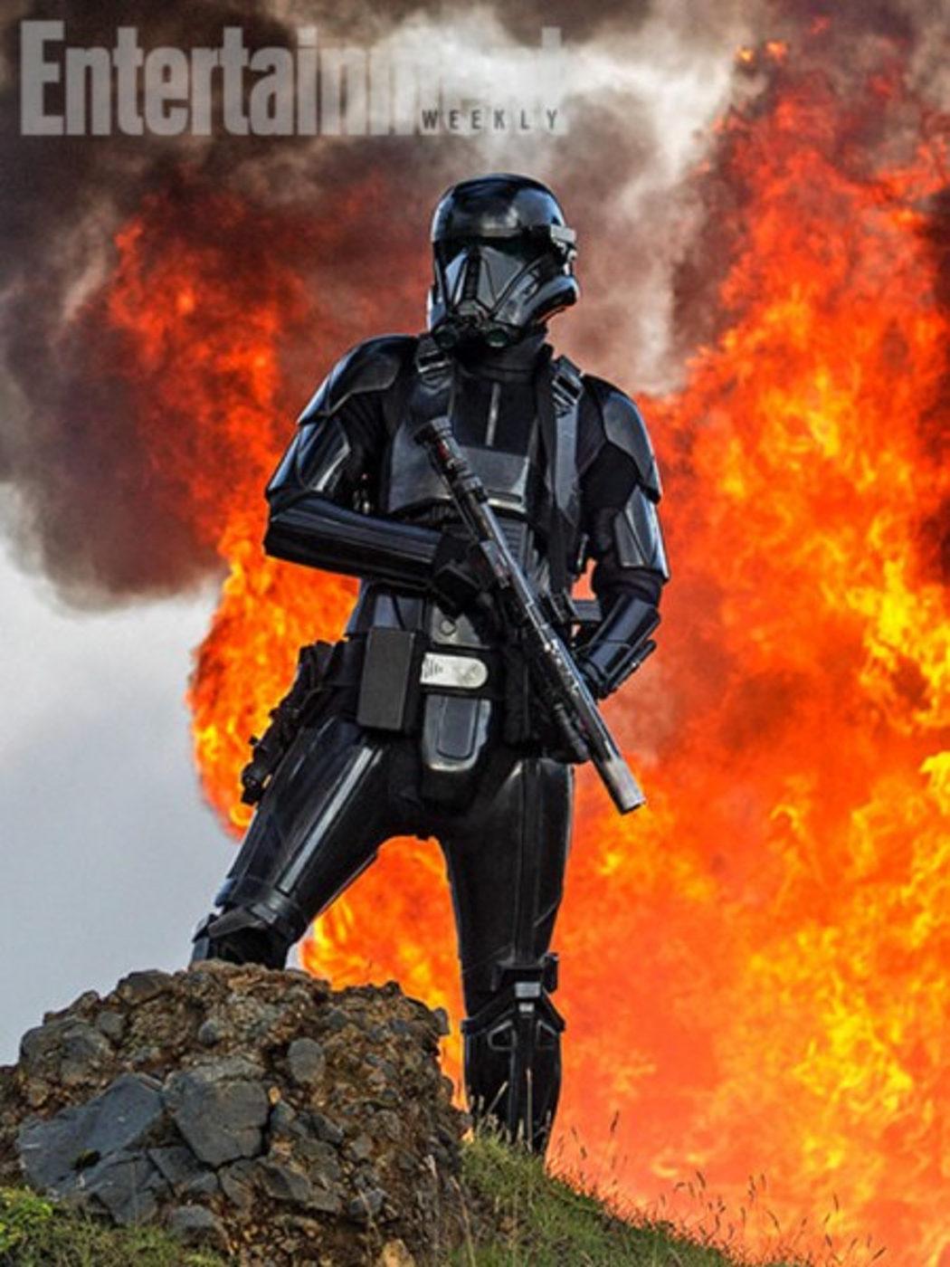 Un stormtrooper en 'Rogue One'