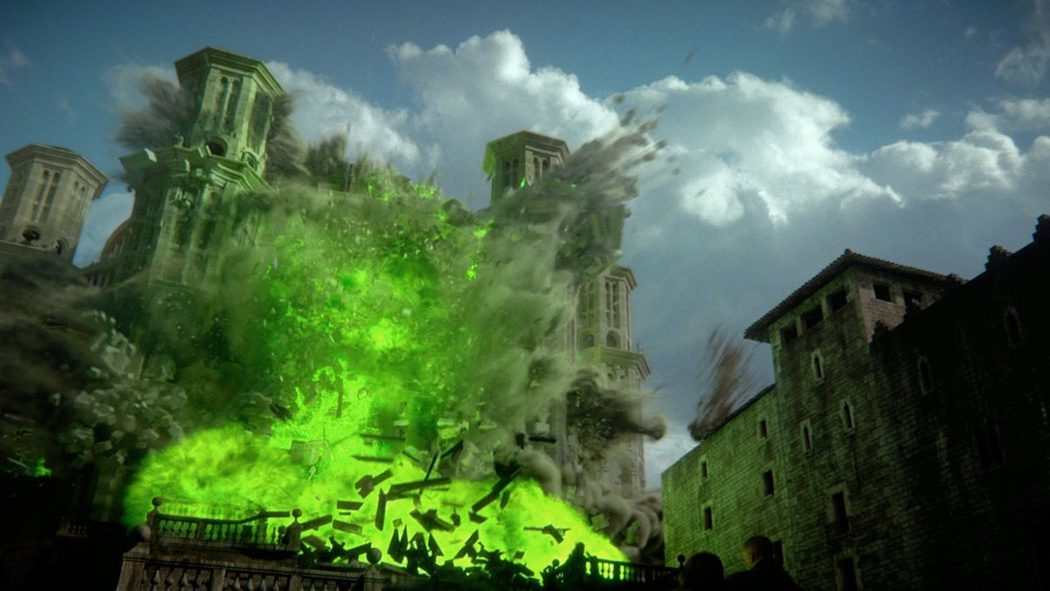 Explosión con Fuego Valyrio