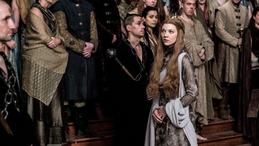 Margaery Tyrell durante el juicio contra Cersei