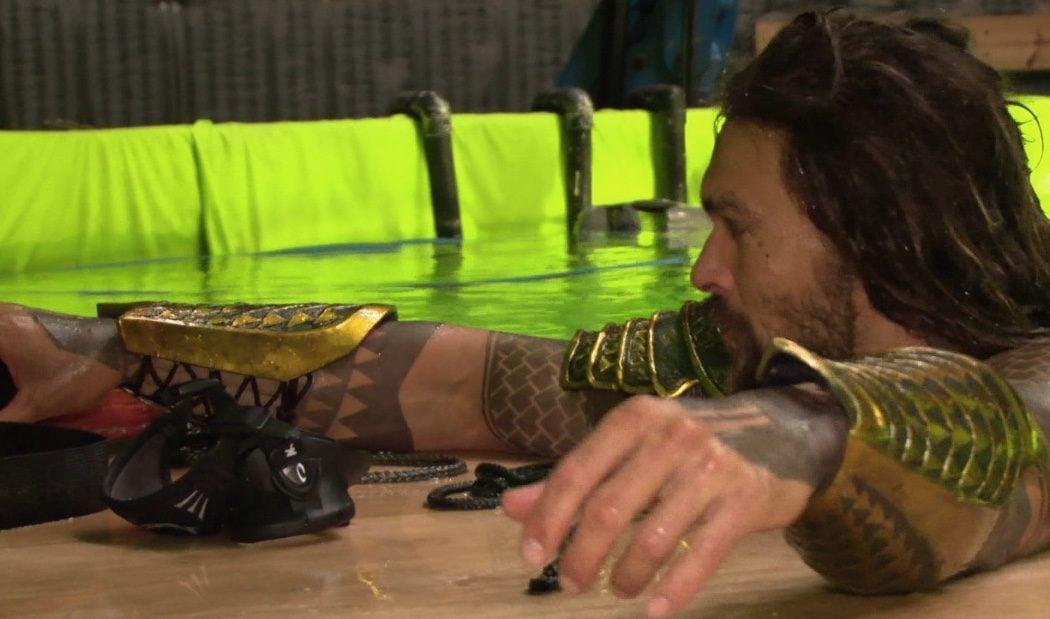 Aquaman en el set de 'Batman v Superman'