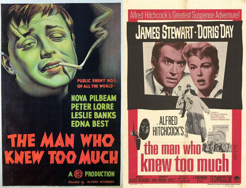Alfred Hitchcock, 'El hombre que sabía demasiado' (1934/1956)