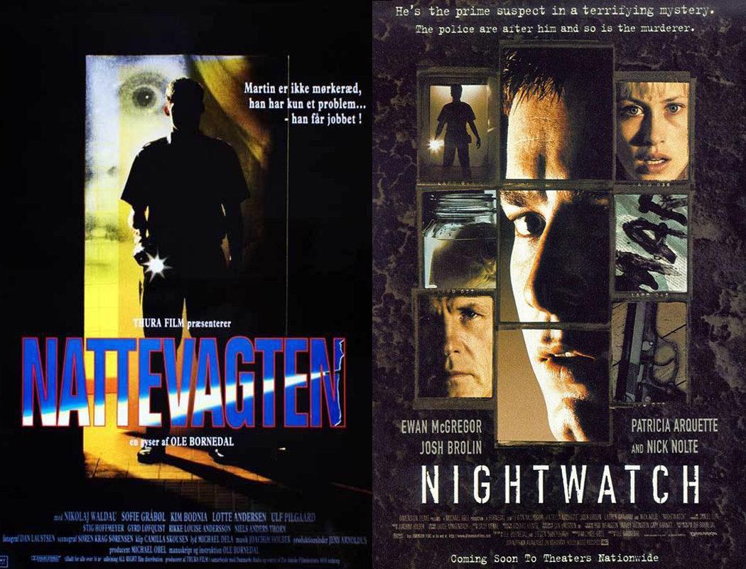 Ole Bornedal, 'El vigilante nocturno' (1994) / 'La sombra de la noche' (1997)