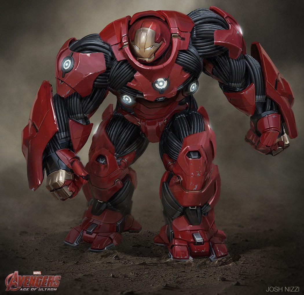 La armadura hulkbuster de Iron Man