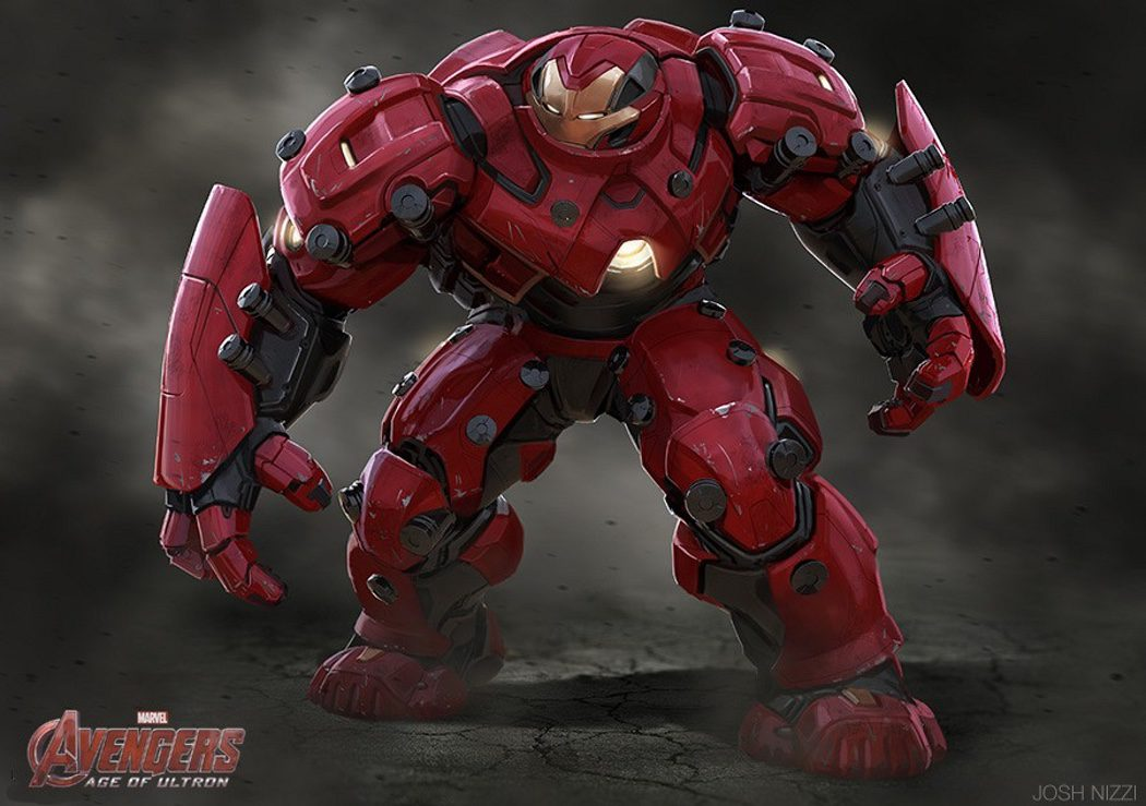 Diseño alternativo de la armadura de Iron Man