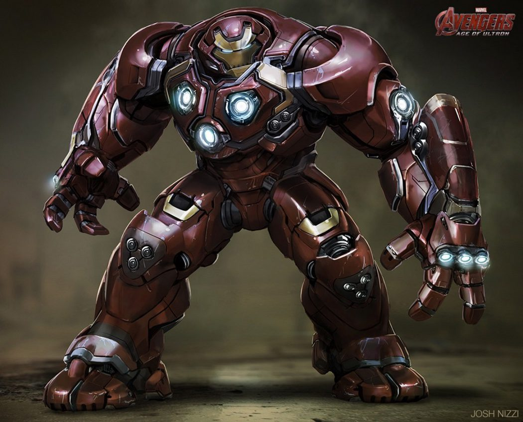 Iron Man preparado para luchar