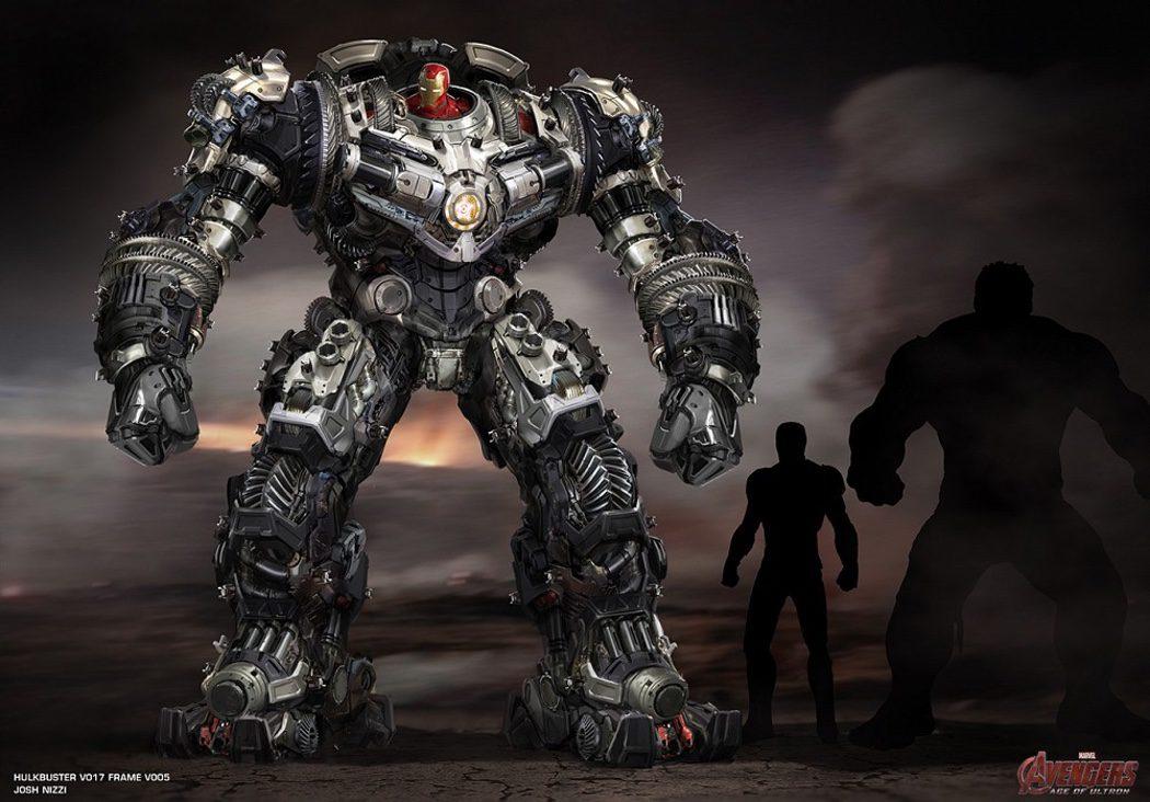 Iron Man y su fondo de armario