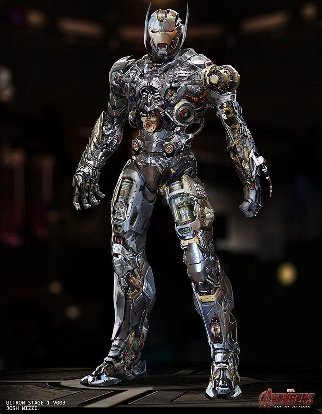 Ultrón, al estilo Iron Man