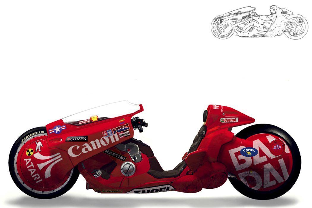 La moto de Kaneda