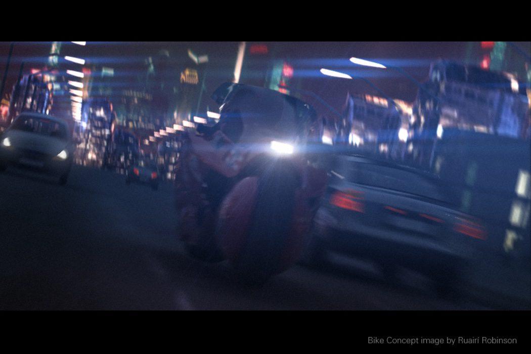 La moto de Kaneda por Neo-Manhattan