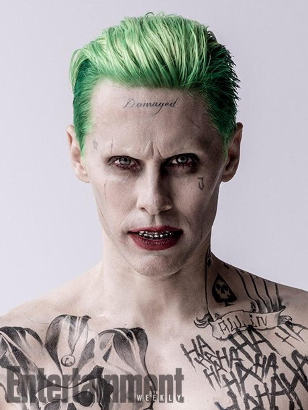 Jared Leto da vida al Joker