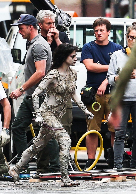Sofia Boutella como 'La momia'