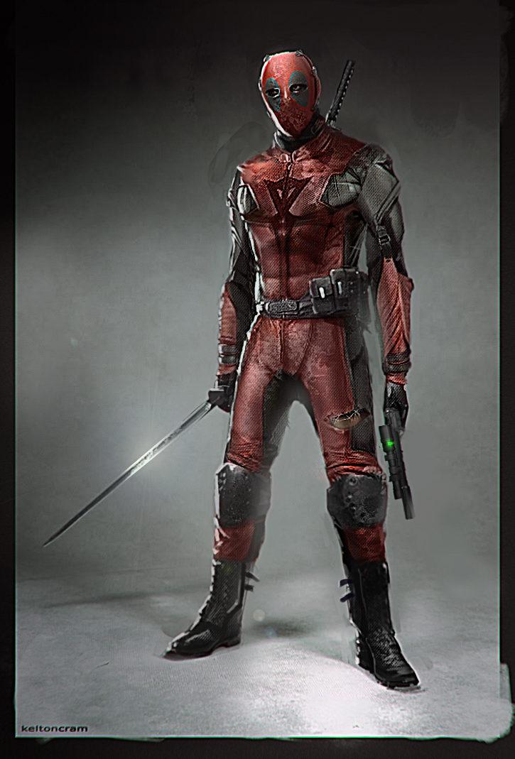 Deadpool motero