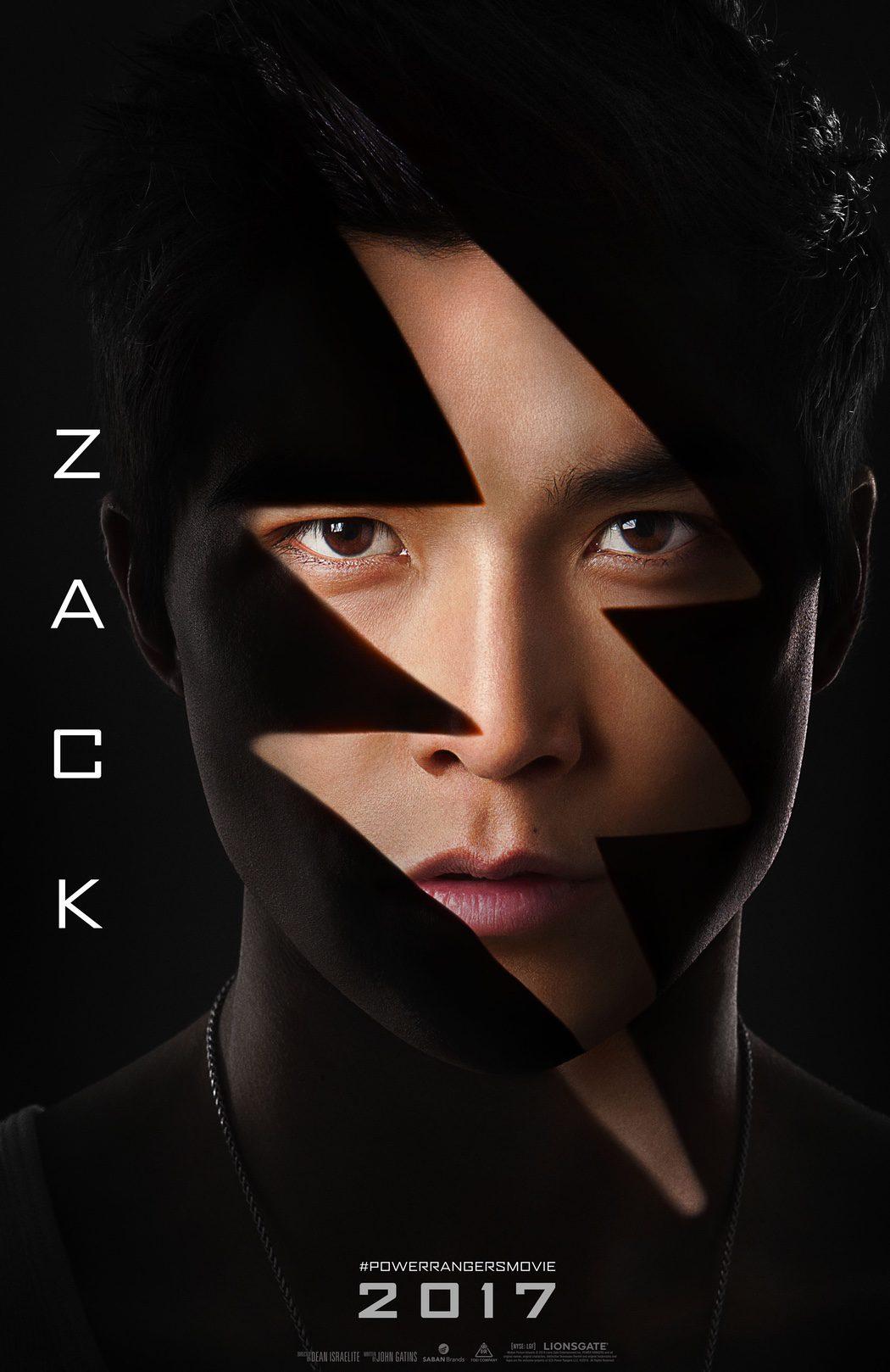 Zack: Ranger Negro, es el actor Ludi Lin