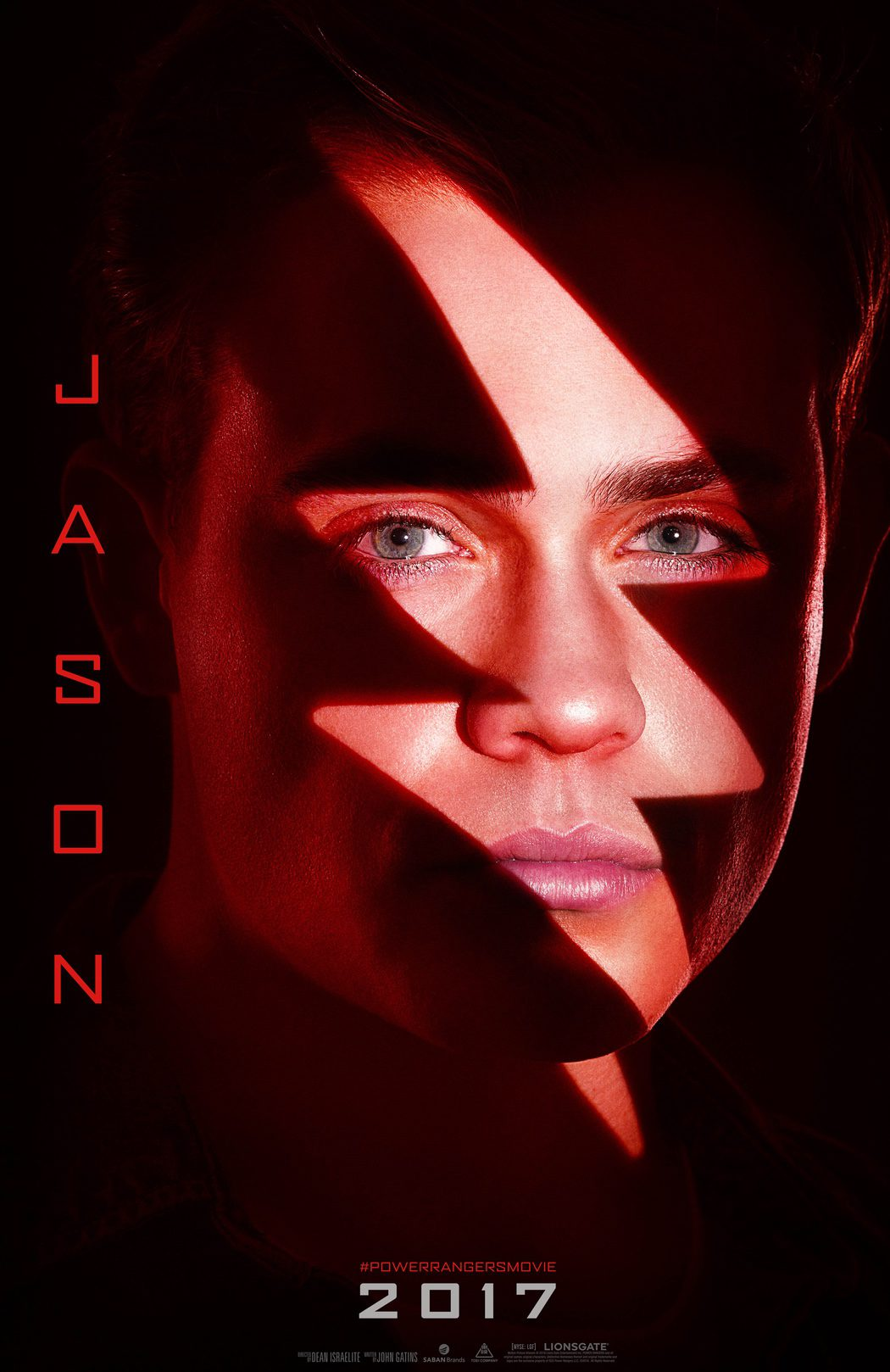 Jason: el Ranger Rojo, por Dacre Montgomery