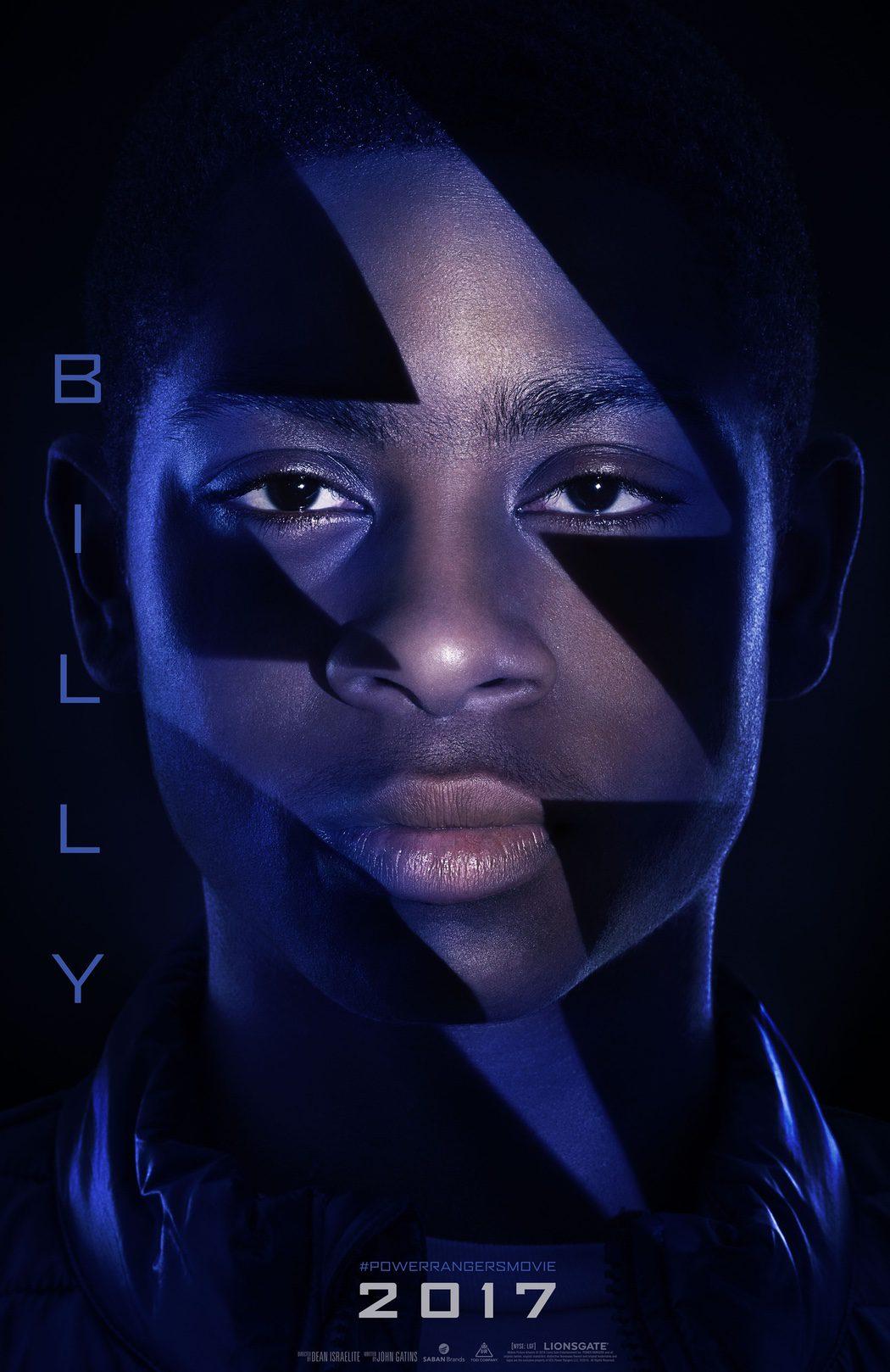 Billy: Ranger Azul, interpretado por RJ Cyler