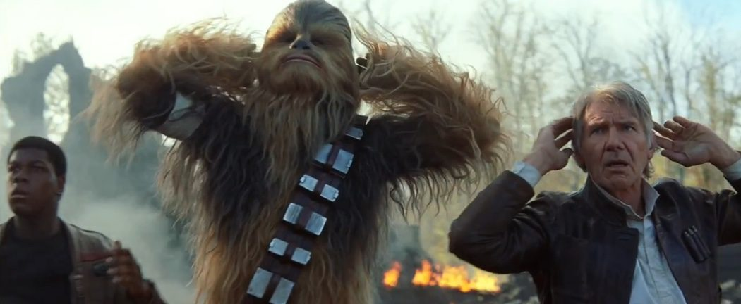 Problemas para Chewie y Han
