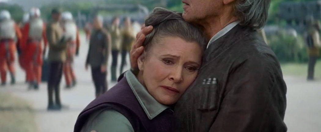 Leia y Han siguen juntos