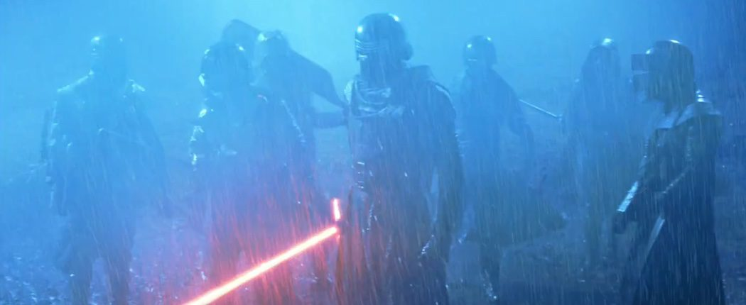 Kylo Ren y su ejército