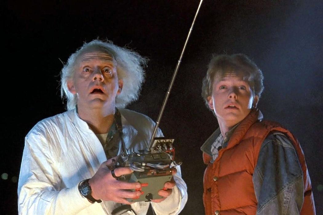 Michael J. Fox y Christopher Lloyd ('Regreso al futuro')