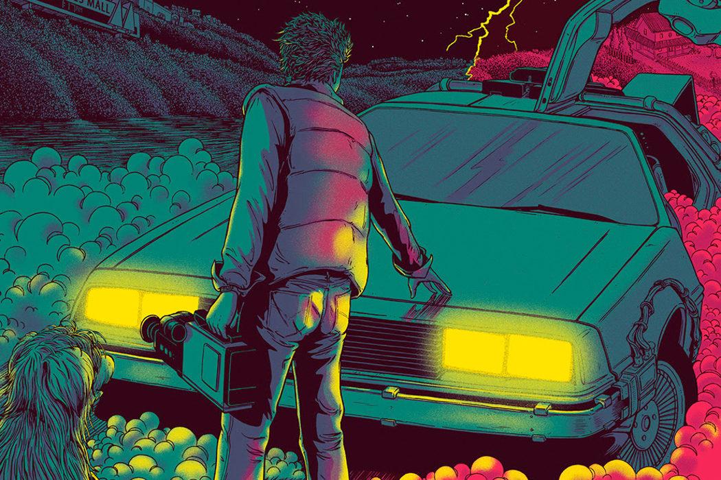 Marty McFly 'Regreso al futuro' de James Flames