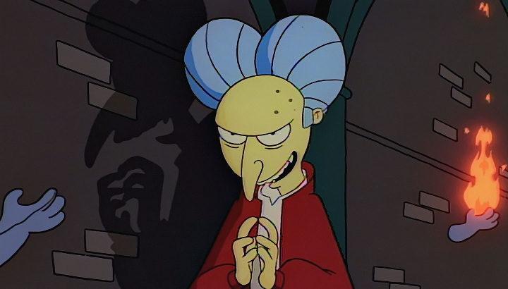 'Bart Simpson's Dracula'