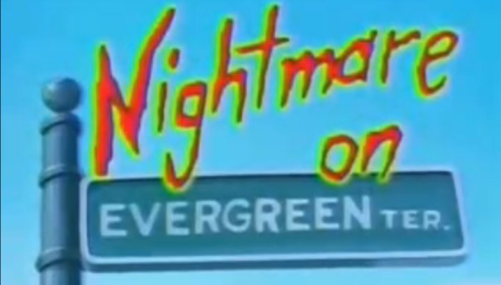 'Nightmare on Evergreen Terrace'