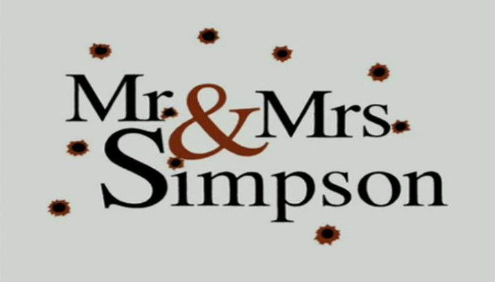 'Mr. & Mrs. Simpson'