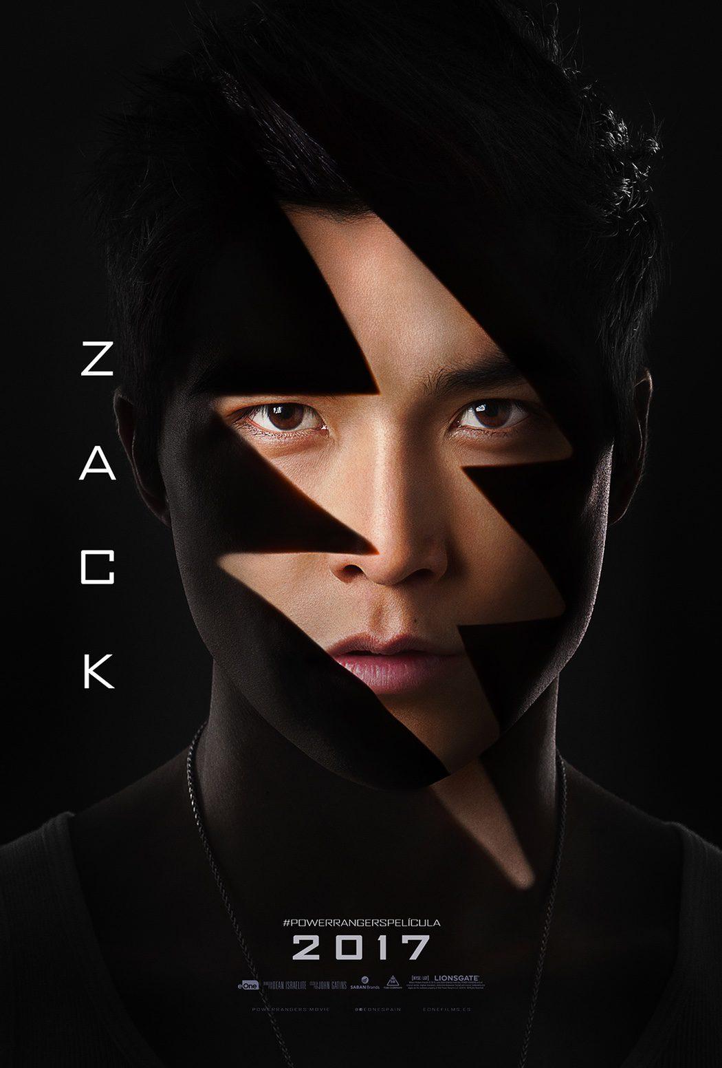 Zack (Ludi Lin): Power Ranger negro
