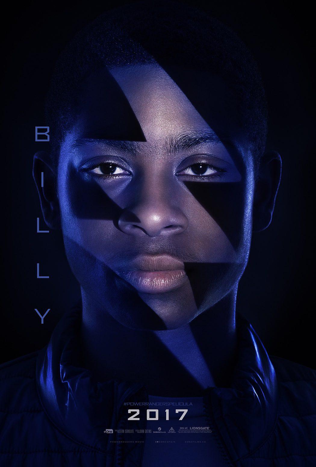 Billy (RJ Cyler): Power Ranger azul