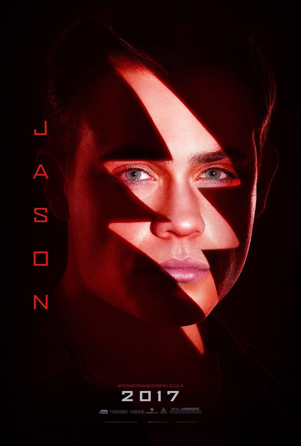 Jason (Dacre Montgomery): Power Ranger rojo