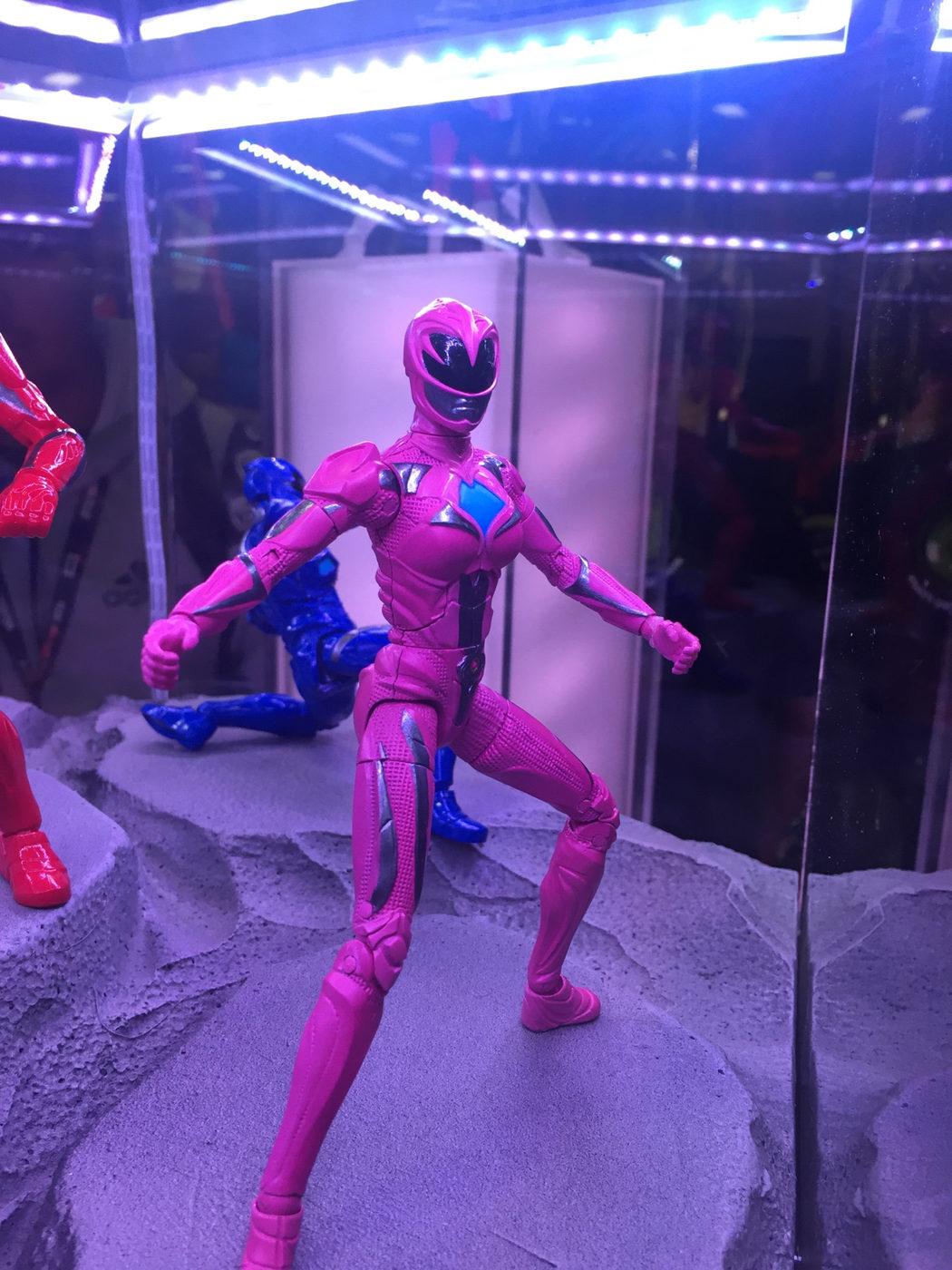 Figura de acción del ranger rosa