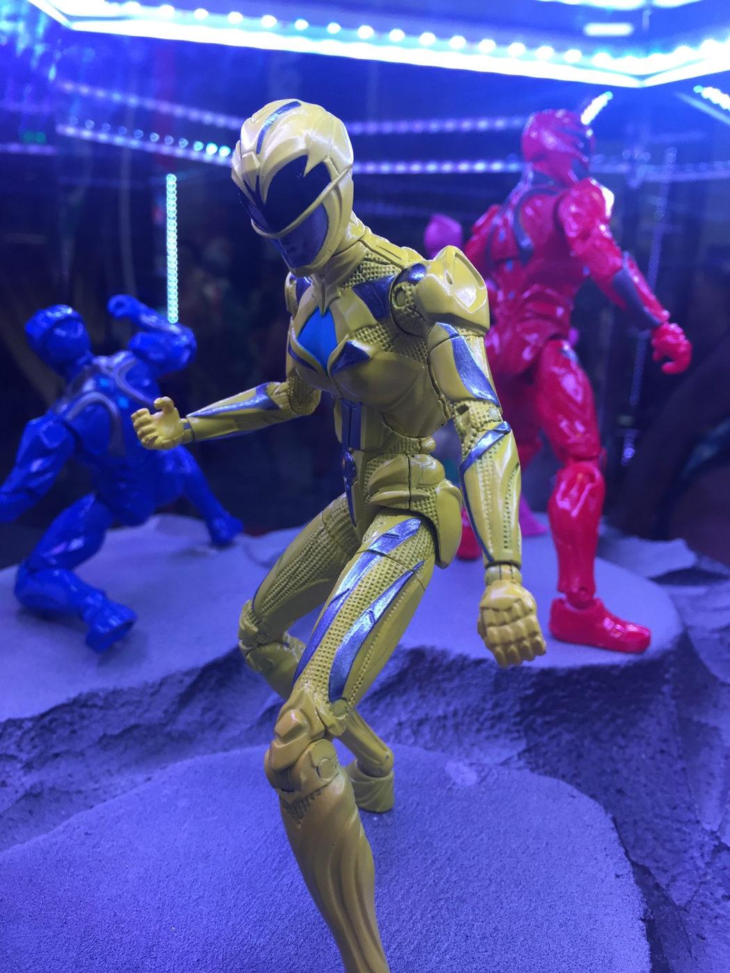 Figura de acción del ranger amarillo