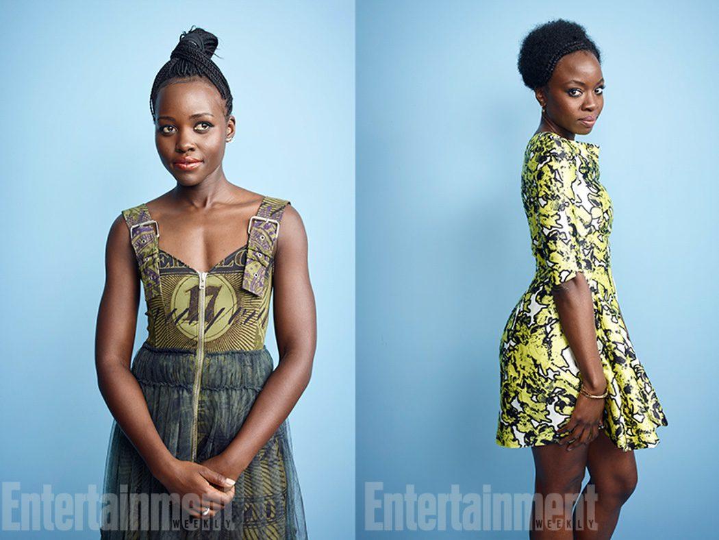 Lupita Nyong'o y Danai Gurira de 'Black Panther'