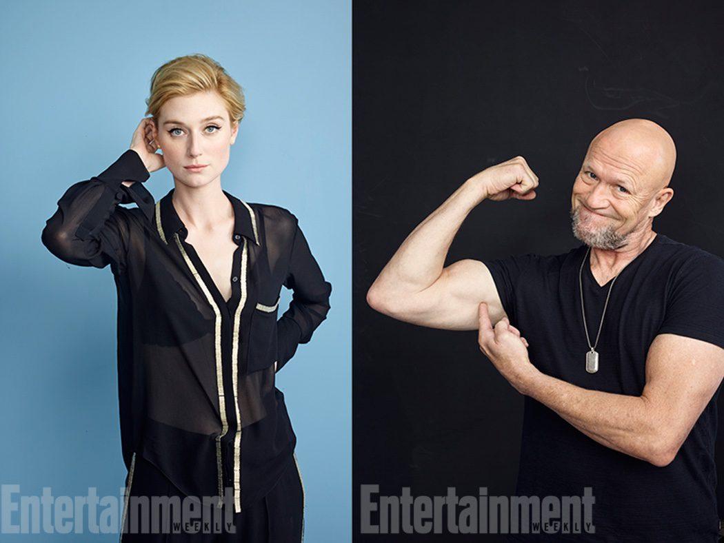 Michael Rooker y Elizabeth Debicki de 'Guardianes de la Galaxia Vol. 2'