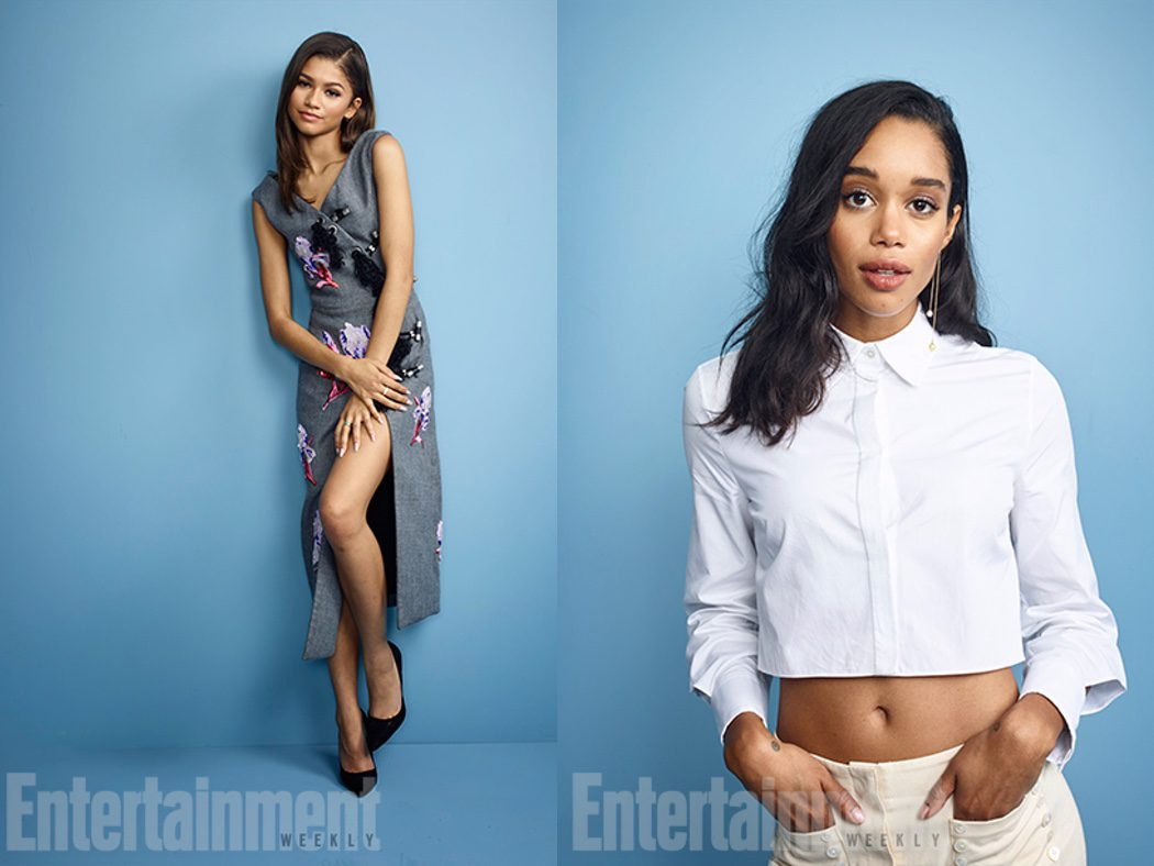 Zendaya y Laura Harrier de 'Spider-Man Homecoming'
