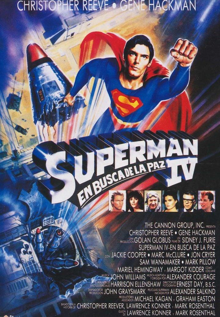 'Superman IV: En busca de la paz'