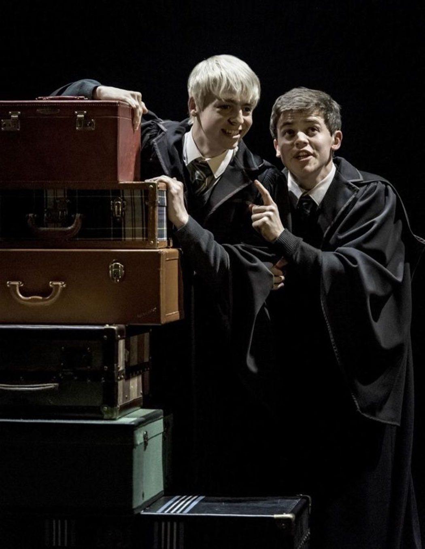 Albus Severus Potter y Scorpius Malfoy