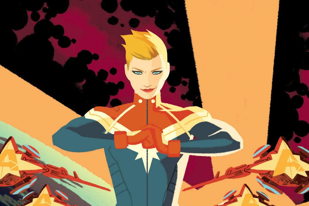 ¿Cuándo se convirtió en Capitana Marvel?