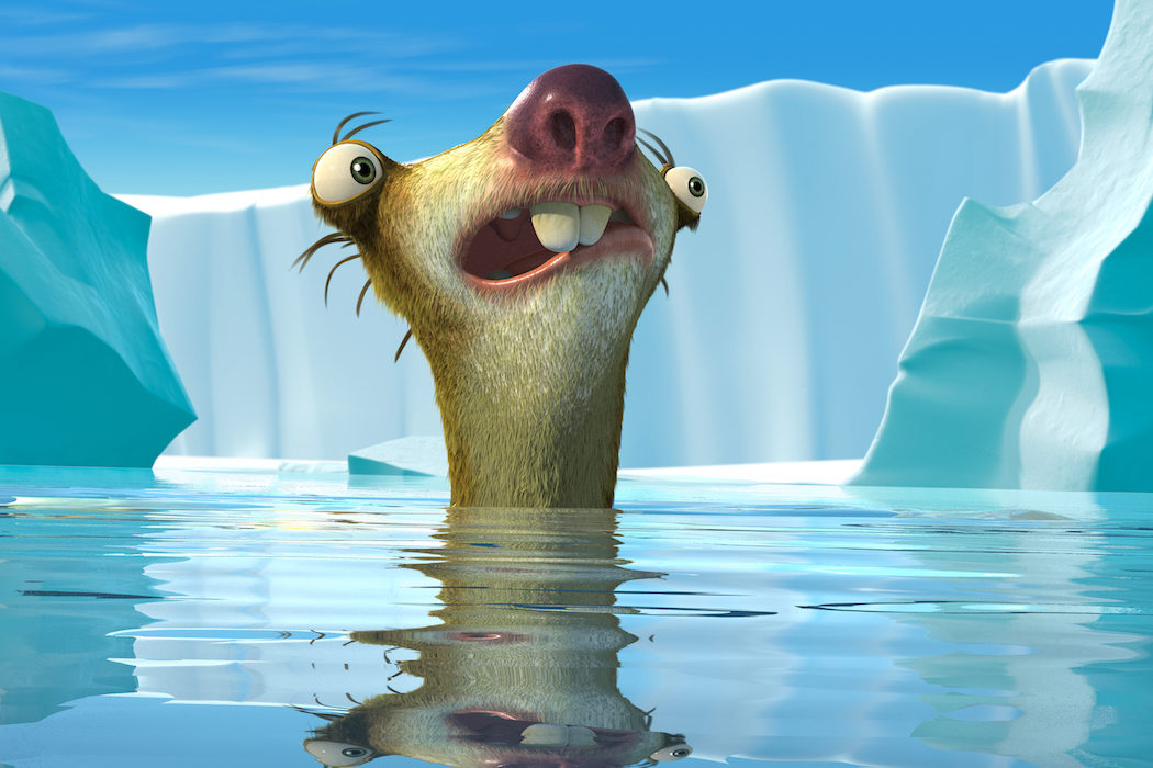 'Ice Age 3: El origen de los dinosaurios'