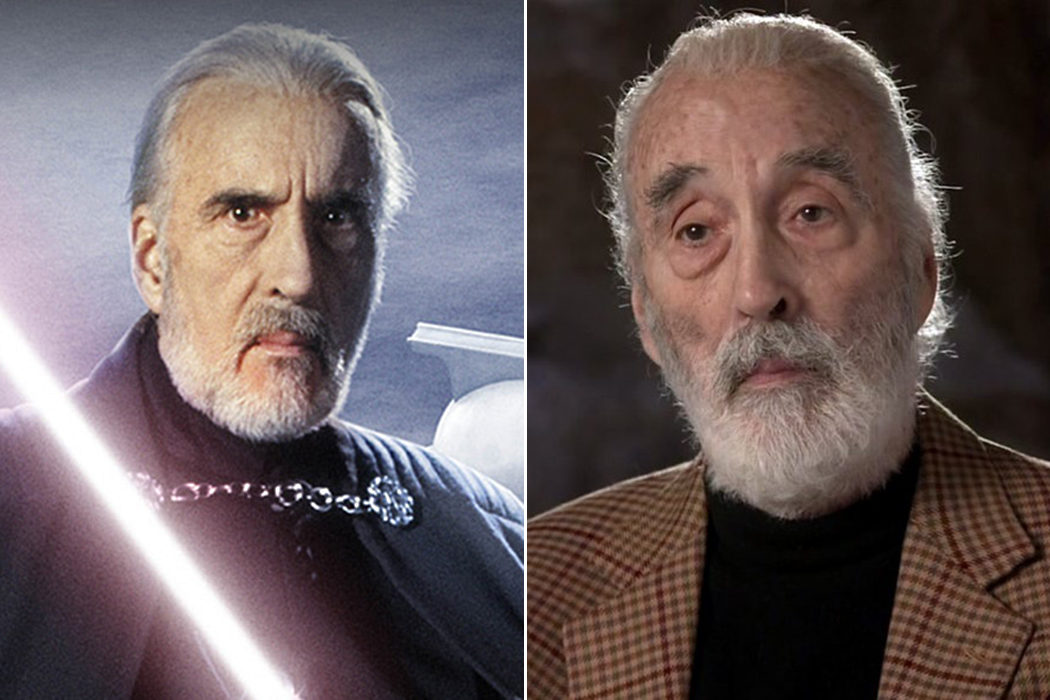 Christopher Lee (Conde Dooku)