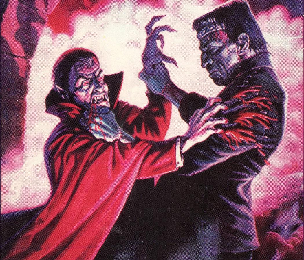 'Dracula vs Frankenstein'